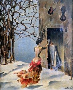 Moeurs Espagnoles, 1943, Dorothea Tanning
