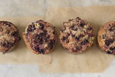 Buttermilk Berry Muffins from Heidi Swanson at 101 Cookbooks
