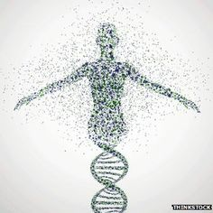 dna morphing into another shape?