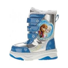 SALE-CLEARANCE-Disney-Toddler-Girls-Frozen-Warm-Winter-Boot-Size-5-and-7