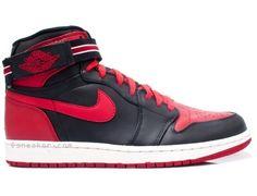 pretty nice 5ce43 fc370 Air Jordan 1 Bred Black Varsity Red White 342132-061 Womens Jordans, Cheap  Jordans