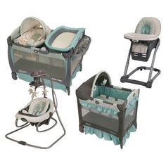 Graco Winslet Collection. Love it. Just needs a stroller/travel system!