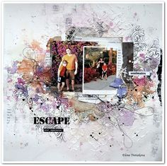 Project by More Than Words DT member Elena Tretyakova inspired by the April ESCAPE & MOOD PHOTO Main Challenge. More details at http://morethanwordschallenge.blogspot.ca/2016/04/april-2016-main-challenge-escape-mood.html #morethanwords #mtwchallenge #morethanwordschallenges #mtw