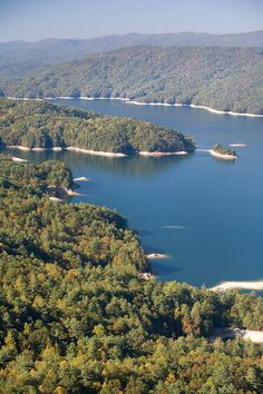 Jumping Off Overlook and Lake Jocassee
