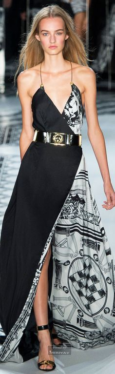 "Versus Versace Spring 2015 ♥ ""And the LORD said to Moses, ""Go to the people and consecrate them today and tomorrow. Have them wash their clothes."" Exodus 19:10"