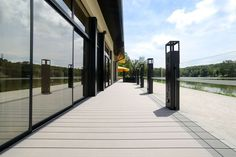 All UPM ProFi decking boards have a stain resistant surface, they are stylish and durable. Composite Decking, Decking Boards, Sidewalk, Commercial, Public, Restaurants, Hotels, Surface, Outdoor