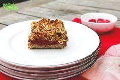 raspberry crumble  - grain free, gluten free, sugar free.  Paleo