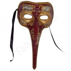 Long Nose Red , Marbled Mask -