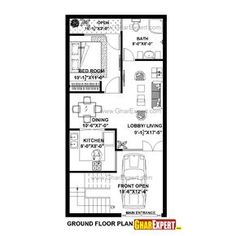 430201714908 1 House Plan For Feet By Plot Size Square Yards X Plans East Facing India 20 40 Duplex South Carsontheauctions