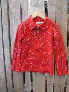 Myk rød skjorte