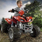 Fisher-Price Battery Powered Kawasaki KFX ATV with Monster Traction