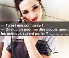 """Find and save images from the """"Citation de Garce ♥"""" collection by zoe cote (LovingSport) on We Heart It, your everyday app to get lost in what you love. Phrase Clash, Punchline Rap, Bitch, French Expressions, Funny Times, Teen Life, Phrases, Sarcasm, Self Love"""