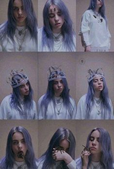 Billie Eilish - you should see me in a crown (Vertical Video) Billie Eilish, Queen, Her Music, Pretty People, Music Artists, My Idol, Girlfriends, Lany, Collage