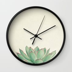 Buy Echeveria Wall Clock by Cassia Beck. Worldwide shipping available at Society6.com. Just one of millions of high quality products available.