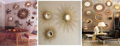 Ideas que mejoran tu vida Diy Canvas Frame, Diy Mirror, Mirror Ideas, Starburst Mirror, Resin Crafts, Creations, Tapestry, House, Furniture