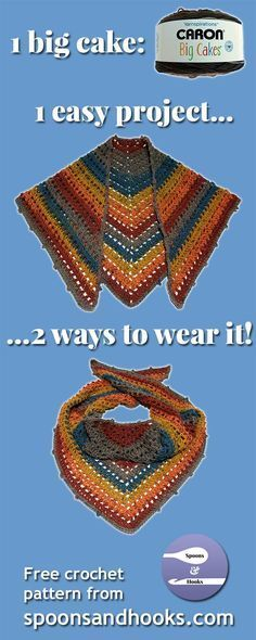 Free crochet pattern: One