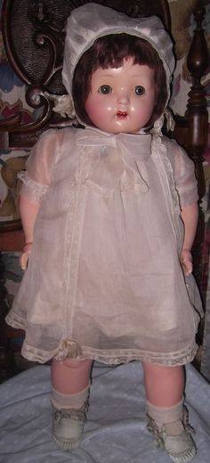Effanbee Large all original MAMA Doll in Tagged outfit