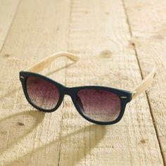 Lilli Green®️️ Shop - ANTONIO VERDE - Sonnenbrille aus Bambus - Spezial