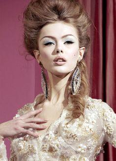 Frida Gustavsson for Christian Dior Haute Couture S/S 2010