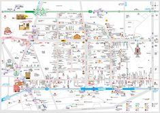 ソウル明洞(詳細)日本語地図 - 韓国全国日本語観光地図