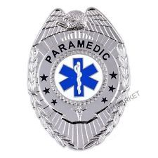 Paramedic badge eagle top emergency medical technician service emt patch ems