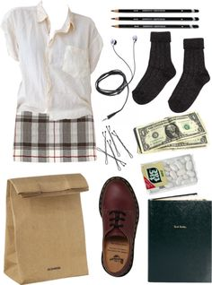 """""""School"""" by clarewigney ❤ liked on Polyvore"""