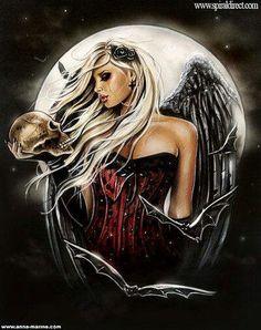 Angel of Death by anne-marine@deviantart