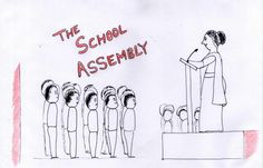 The school assembly