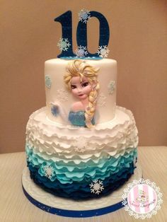 Frozen - Cake by Sweet Surprizes
