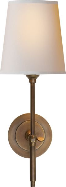 a little bit smaller and only 60 watts -- Visual Comfort BRYANT SCONCE
