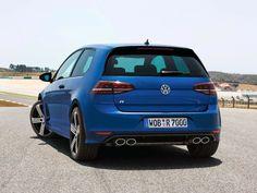 imagens  VW Golf R - foto traseira de 2014
