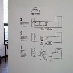 signage system for 'Artist's House' - studio fnt Map Signage, Directional Signage, Office Signage, Wayfinding Signs, Signage Display, Signage Design, Map Design, Design Posters, Display Design