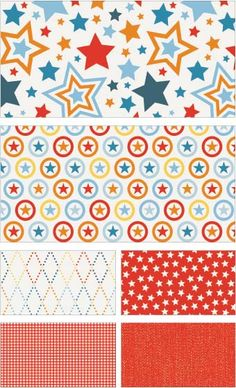 Lucky Star Fabric Line by Zoe Pearn for Riley Blake Designs—Subscribe to our newsletter at http://www.rileyblakedesigns.com/newsletter/