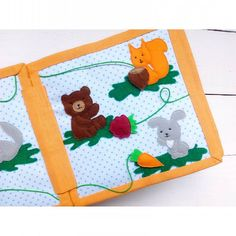 Quiet book, ideas, pages, busy book, for baby, for boy, for girl, squirrel, hare, rabbet, bear, nut, raspberry, carrot. #bookibooki #quietbook #quiet_book #busybook #ideas #развивающаякнижка #идеи #моиидеи #беларусь #минск