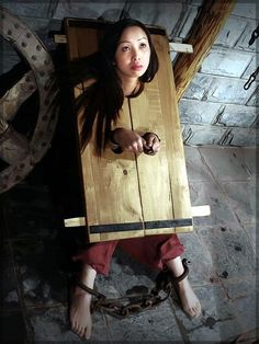 girls restraint bondage Young in