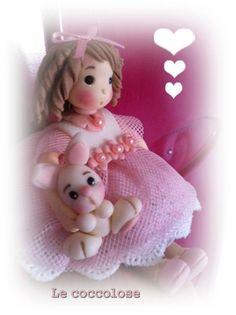 Tulle rosa e porcellana fredda nelle tonalità del rosa <3