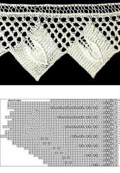 beautiful patterns knitting lace edge
