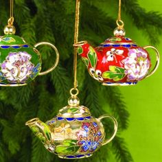 china teapot ornament asian christmas ornaments chinese christmas christmas dishes christmas tea