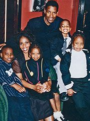 The Denzel Washington family includes wife, Paula, whom he met on the set of his first tv film, Wilma; and four children, John David, (b. July 28, 1984) Morehouse College graduate who signed with the St. Louis Rams; Katia (born November 27, 1987) who graduated from Yale University with a B.A. in 2010, and twins Olivia and Malcolm (born April 10, 1991). (Malcolm attends the University of Pennsylvania.)