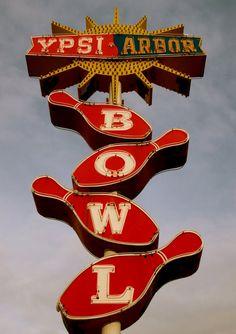 Ypsi-Arbor Bowl, Ypsilanti, Michigan