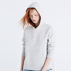 Madewell+-+Side-Slit+Hoodie+Sweatshirt