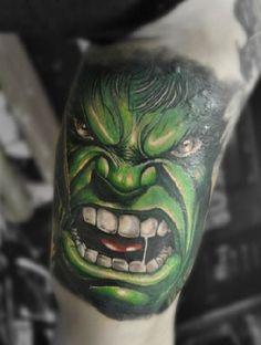 The Hulk Tattoo