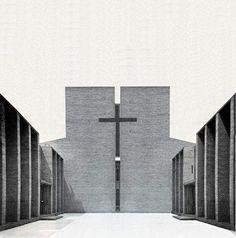 Chiesa Protestante a Jelgava in Lettonia    1929- 1931 - arch. Aspund  period picture  notizie: