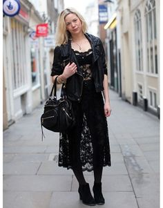 ♥ Lace. street style in london