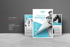 Ads Flyer by AlfianBrand™ on Business Brochure, Business Card Logo, Business Design, Business Flyers, Ad Layout, Layout Design, Lato Font, Flyer Free, Change Image