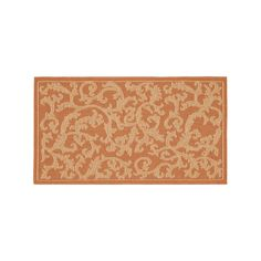 Safavieh Courtyard Ivy Vines Indoor Outdoor Rug, Multicolor
