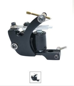 Hand-assembled Cast Iron Tattoo Machine Liner and Shader Item ID #TM-158 Price: $26.50 read more:www.busyontheway.com