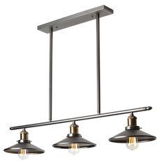 Over dining table? Wayfair - 3 Light Kitchen Island Pendant