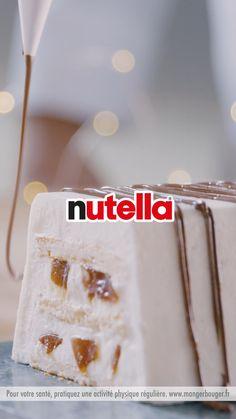Grâce à cette bûche aux pommes, caramel et Nutella®, vous allez vous régaler ! Cupcake Recipes, Cookie Recipes, Cupcake Cakes, Dessert Recipes, Nutella, Cakes That Look Like Food, Buzzfeed Tasty, Easy Desserts, Food Videos
