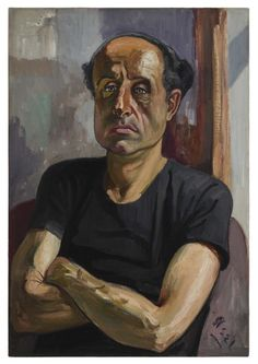 Alice Neel (1900-1984), Portrait of Sam (1958), oil on canvas. Via design talks.